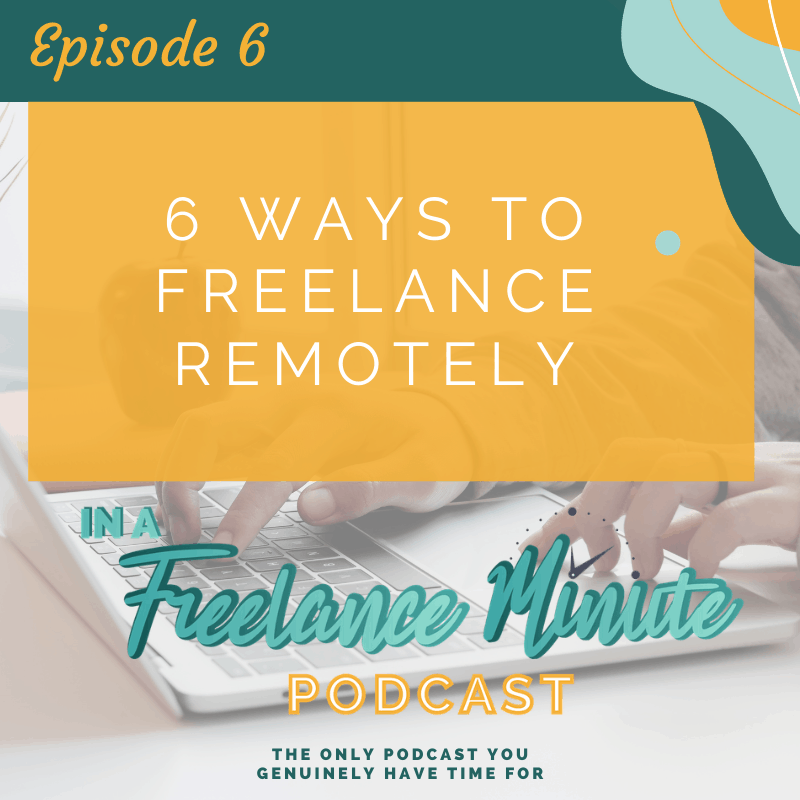 6 Ways to Freelance Remotely