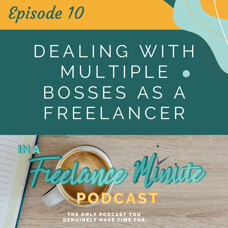 Dealing with Multiple Bosses as a Freelancer