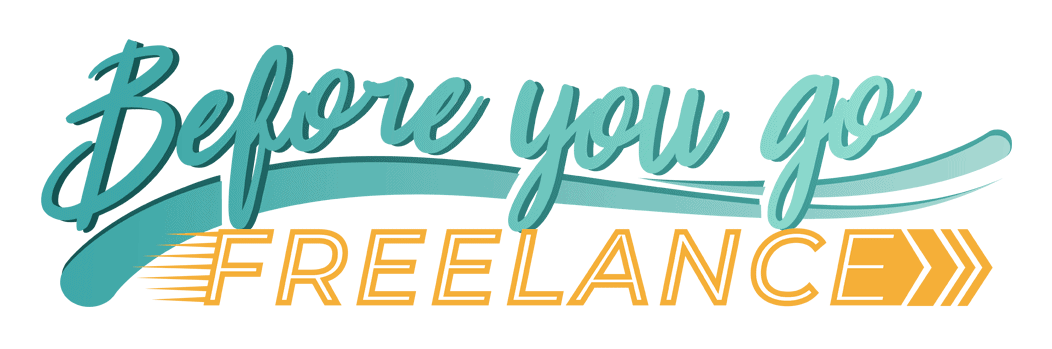 Before You Go Freelance Logo